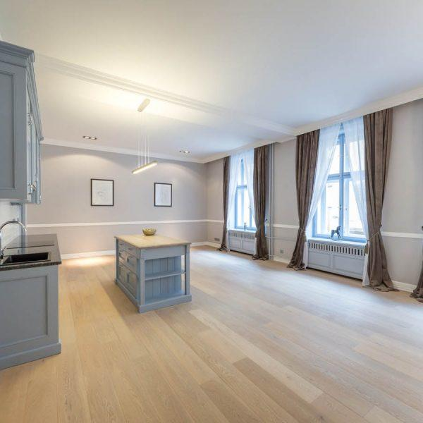 Oslo Pure Affordable Oiled Parquet Floor With Long And Wide Planks